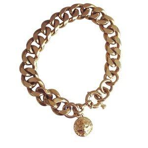 Marc Jacobs gold plated bracelet ✨💛